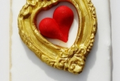 Framed Heart Cookie