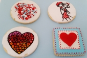 Large Valentine's Day Cookies