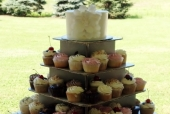 Sugar Magnolia Cupcake Tower