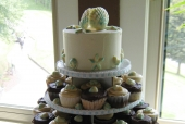 Seashell Cupcake Tower