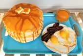 Pancakes and Eggs!
