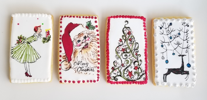 2017 Vintage Christmas Cookie Collection