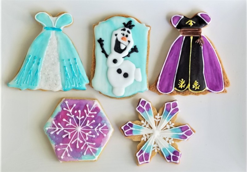 Frozen 2 Cookie Set