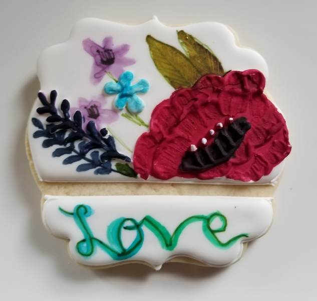Love Painted Cookie