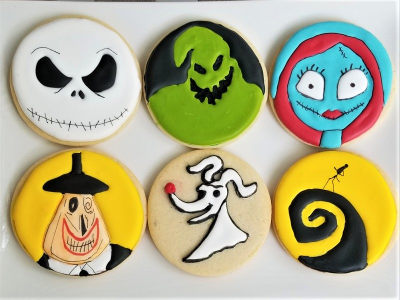 Nightmare Before Christmas Cookie Set