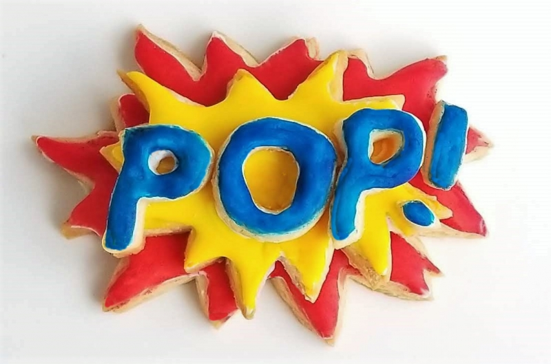 POP 3-d Cookie