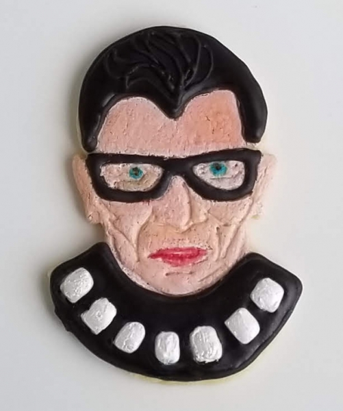 Notorious RBG Cookie