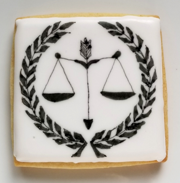 Scales of Justice Cookie
