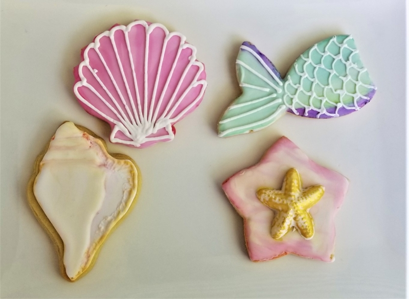 Seashell Cookies