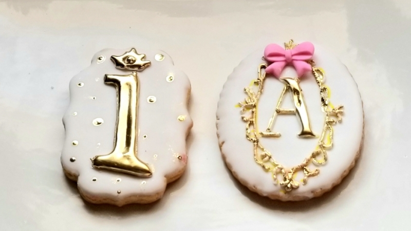 Baby Shower Cookie Plaques