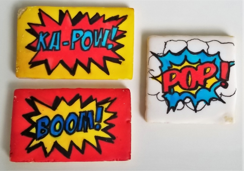 KA-POW, BOOM, POP! Cookies