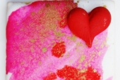 Painted Love Cookie