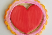 Heart In Circle Cookie