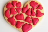 Hearts on Hearts Cookie