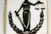 Lady Justice Cookie