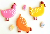 Level 2 Hen Cookies