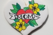 Mom Tattoo Cookie