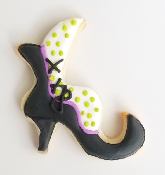 Witches Shoe Cookie