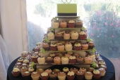 Apple Green Cupcake Tower