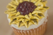 Sunflower Topped Cupcake