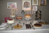 Dessert Display Table