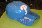 Phillies Baseball Hat Grooms Cake
