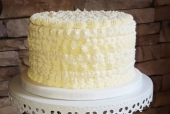 Bas relief buttercream