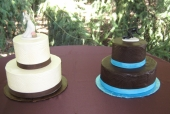 Gotcha wedding cake, take 2!