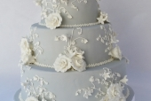 Jasper Wedgwood wedding cake